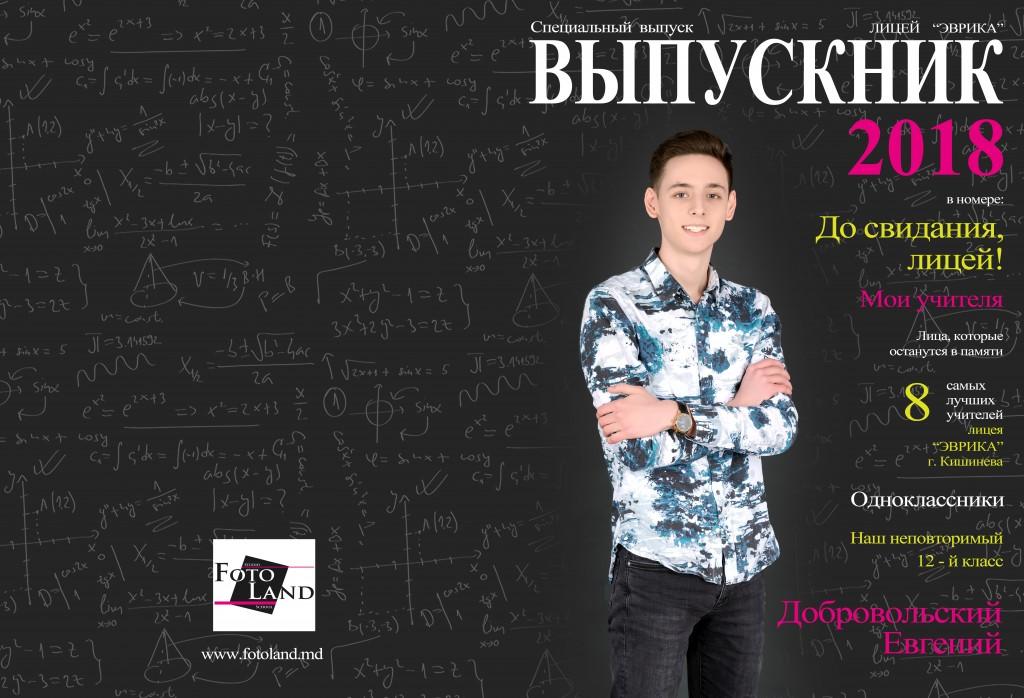 Добровольский Евгений Лицея Эврика 12-й класс