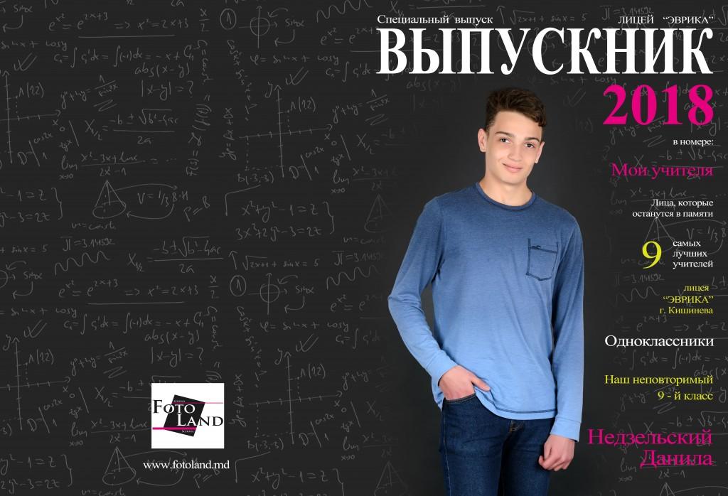 Недзельский Данила Лицей Эврика 9-й класс